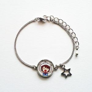 Bracelet illustré Marine heureuse
