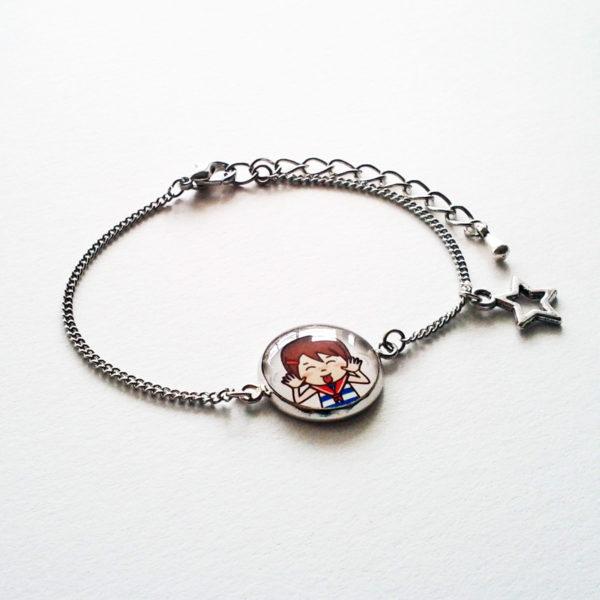 Bracelet illustré Marine taquineuse